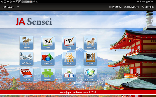JA Sensei Learn Japanese Kanji screenshot 08