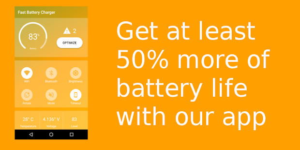 Battery saver : Save your battery & charge it fast - náhled