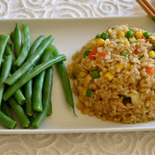 Chinese Fried Cauliflower & Brown Rice.