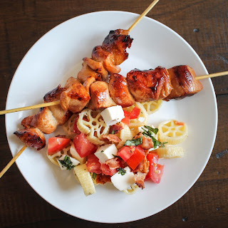 Sweet and Salty Chicken Kebabs