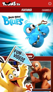 ToonsTV: Angry Birds video app- screenshot thumbnail