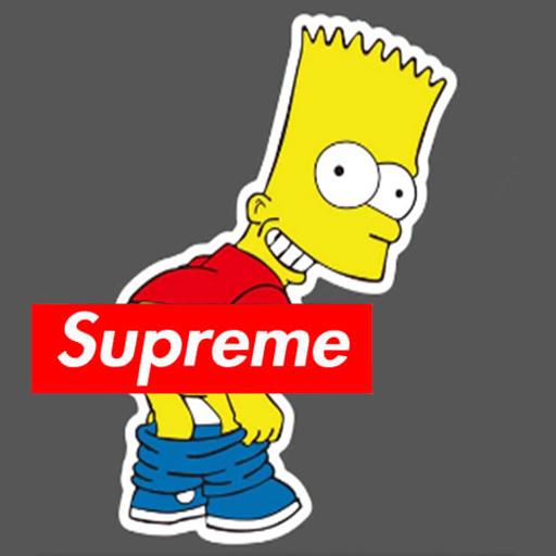 Supreme The Simpsons: Wallpaper Simpsons Supreme