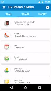 QR Scanner & Maker Pro Screenshot