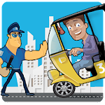 Rickshaw Thief Run Icon