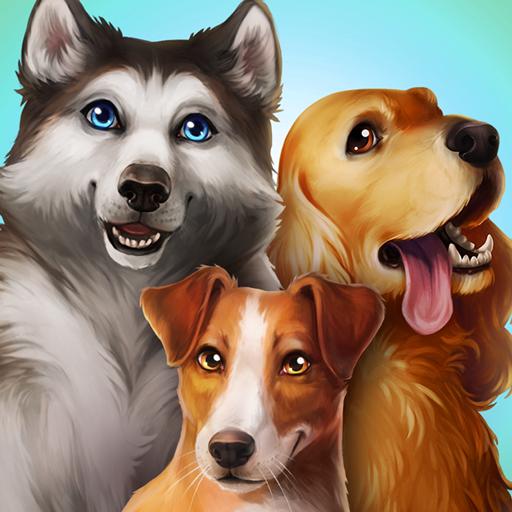 डॉगहोटल- कुत्तों के साथ खेलें