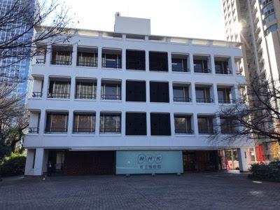 こんな「NHK放送博物館」でした。【屋外編】