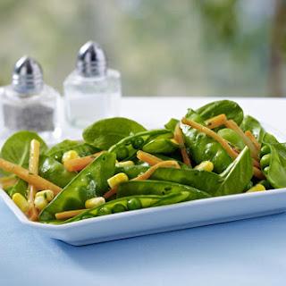 Charred Corn and Pea Salad
