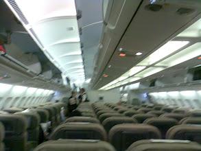 Photo: The pax are still boarding...