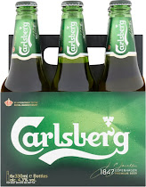 Carlsberg Lager Beer - 6 x 330ml