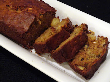 Zucchini Pineapple Walnut Bread Recipe