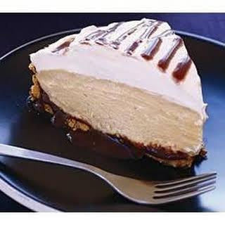 Chocolate Peanut Butter Cream Pie.