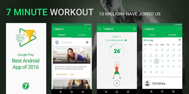 7 Minute Workout Mod 4.3.4 Apk [Unlocked] 1