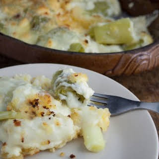 Leek With Cheese Sauce Recipes.