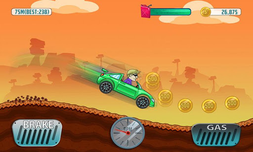 Mountain Car Climb - screenshot