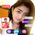 Random Video Call Live - Girls Video Chat App icon