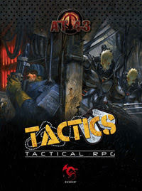 AT-43 TACTICS / ENGLISH Edition ONLY  (includes Tokens)