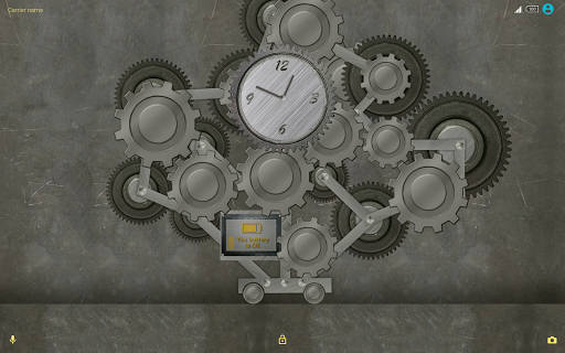 Trees of Gear  (metal live)  Xperia™ Theme + icons app for Android screenshot