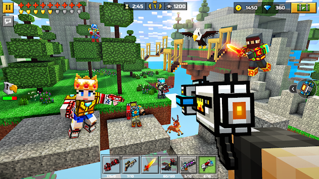 3D Pixel Gun (Pocket Edition) APK screenshot thumbnail 1