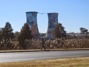 Photo: Soweto- the Southern Western Township of Johannesburg where the blacks were limited to living under apartheid