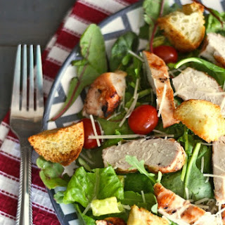 Organic Grilled Chicken Salad & A Great Place for Inexpensive Organic Groceries
