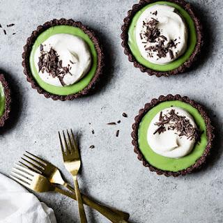 Chocolate Matcha Cream Tarts Recipe