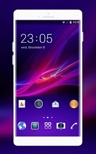 Theme for Sony Xperia A HD - náhled