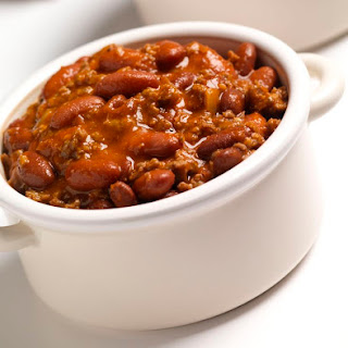 Chunky Crock Pot Chili.