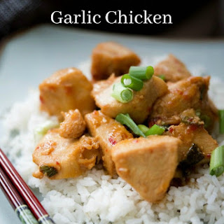 Asian Chili Garlic Chicken Recipe