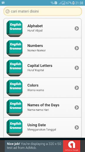Belajar Bahasa Inggris Sehari hari for PC