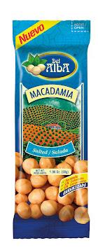 PASABOCAS DEL ALBA   MACADAMIA SALADA X 30 GR