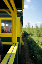 Photo: The train has been in operation since 1927. Partners Joe Beach and Robert Hunter developed this unique train ride and river boat tour that provided the only access to the Upper Tahquamenon Falls.