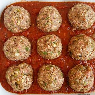 Crock-pot Beef & Vegetable Meatballs