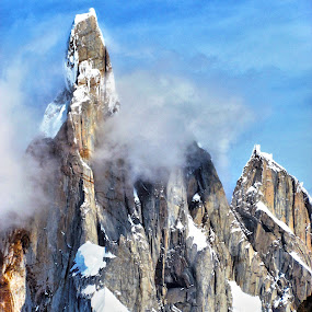 Cerro Torre by Fabio Ferraro - Landscapes Mountains & Hills ( cerro, mountain, patagonia, south america, cerro torre )