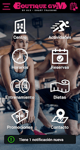 Boutique Gym for PC-Windows 7,8,10 and Mac apk screenshot 1