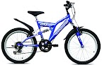 "Bicikl ROCKY 20"" ANN plavi"