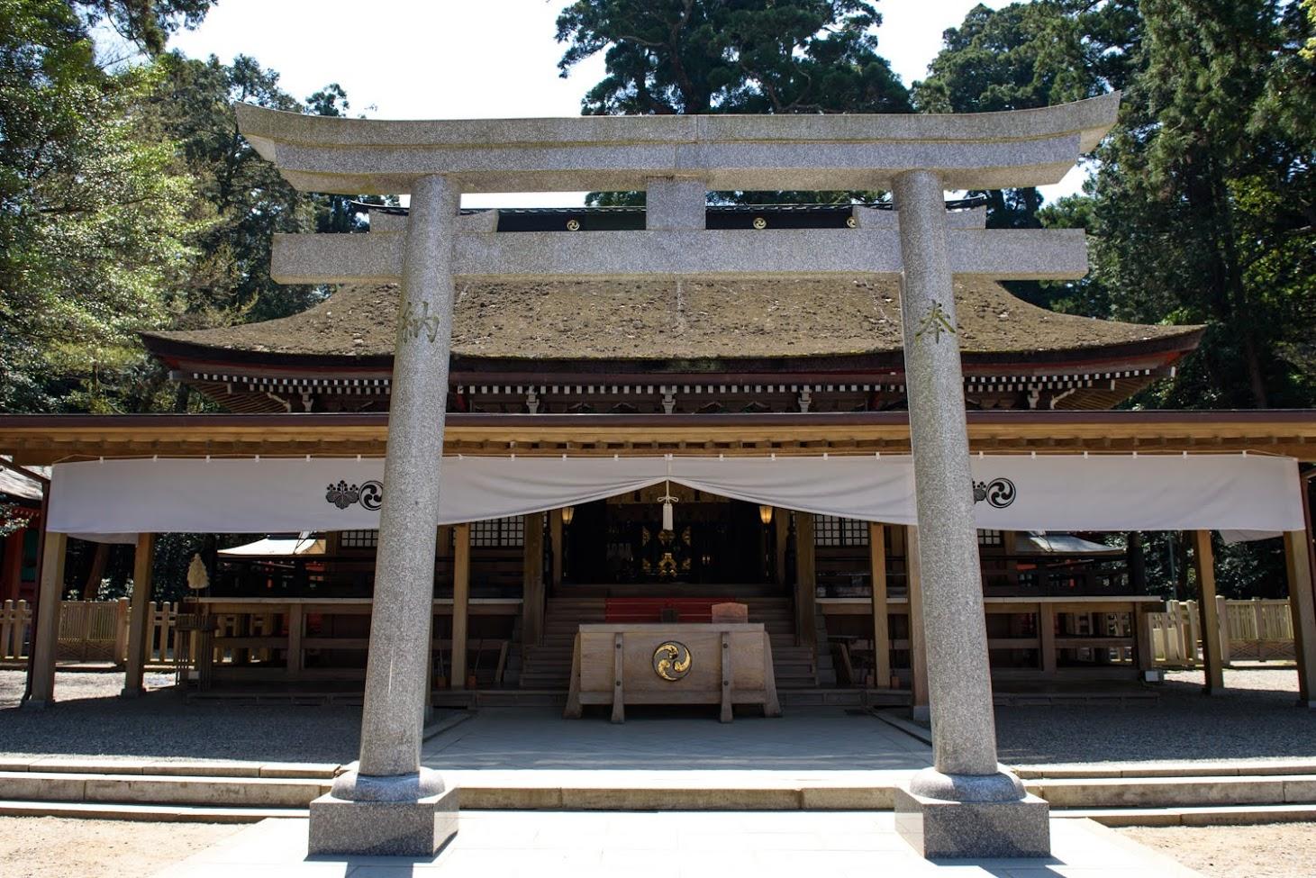 【旅8日目】東国三社の一社「鹿島神宮」で参拝してから大洗へ
