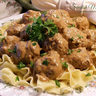 Easy Old-Fashioned Swedish Meatballs