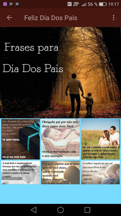 Frases Para El Dia Del Padre Feliz Dia Dos Pais Android