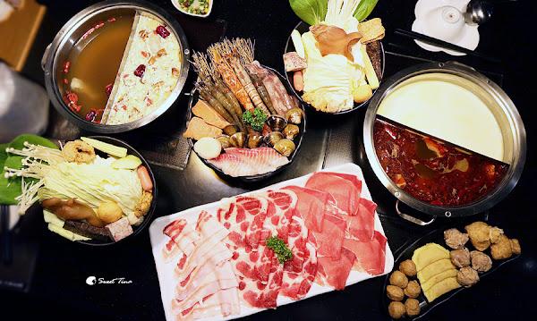 大橋頭第一鍋物 - 優質海鮮、肉品 / 麻辣、藥膳、起司牛奶