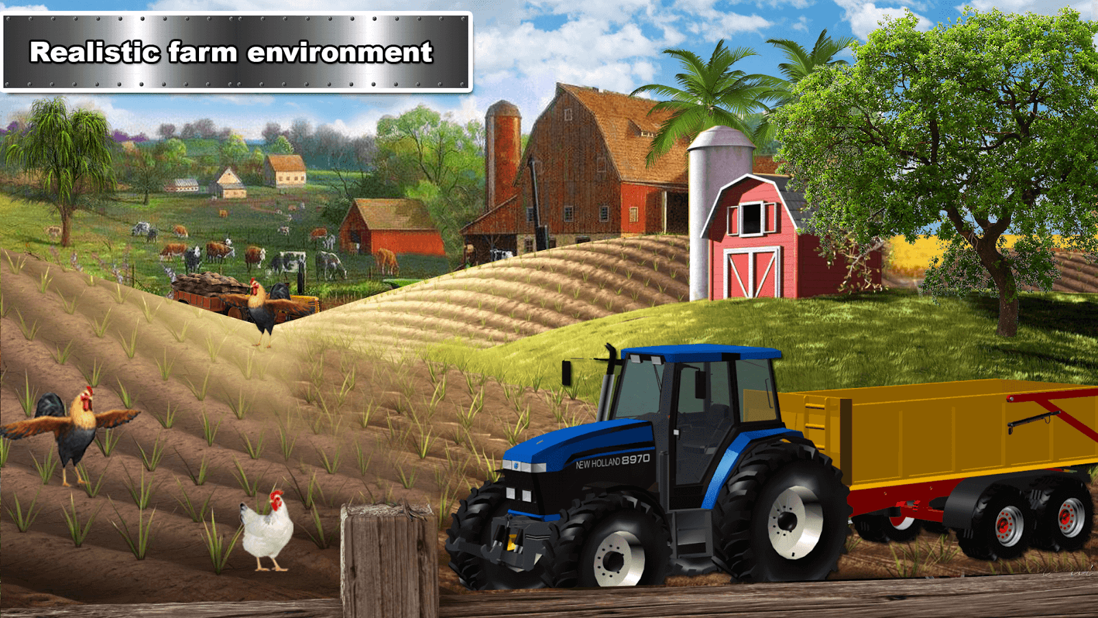 Farming Tractor Adventure - Sim Driving 2018- screenshot