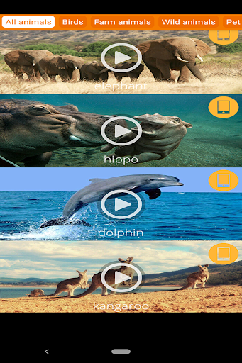 animals ringtones : alarm clock screenshot 3