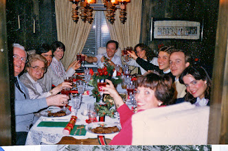 Photo: Christmas dinner with the Millers