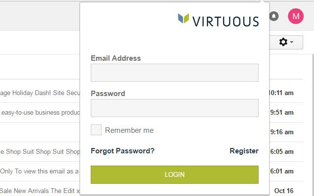 Virtuous Chrome Plugin