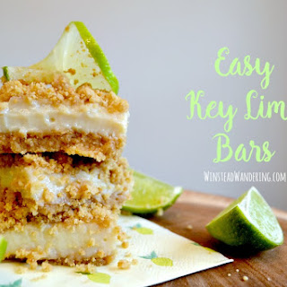 Key Lime Dessert Bars Recipes