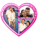 Valentine's Day Love Collage icon