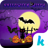 Halloween Witch Keyboard Theme