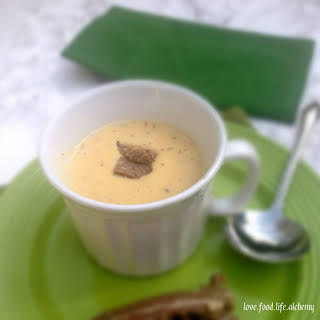 Potato Soup with Corned Beef.