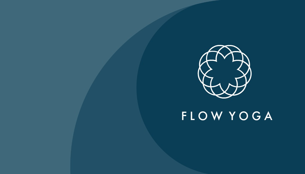 Flow Yoga Business Card Front | PicMonkey