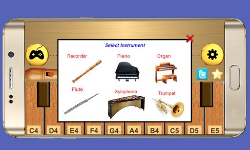 Real Flute & Recorder - Magic Tiles Music Games 1.3 screenshots 2