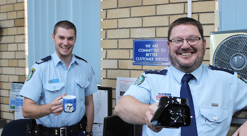 Sergeant Daniel Cooper and Inspector Robert Dunn are happy to shout you a coffee and answer any questions you might have about policing in Narrabri Shire at Coffee With a Cop next week.